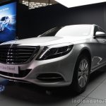 2014 Mercedes-Benz S Class S350 diesel launch front quarter angle