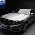 2014 Mercedes-Benz S Class S350 diesel launch front quarters