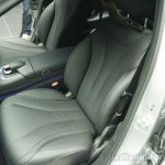 2014 Mercedes-Benz S Class S350 diesel launch front seat