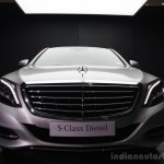2014 Mercedes-Benz S Class S350 diesel launch front view