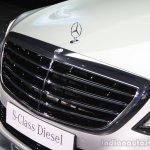 2014 Mercedes-Benz S Class S350 diesel launch grille