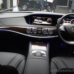 2014 Mercedes-Benz S Class S350 diesel launch interior