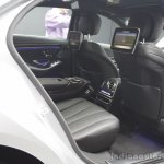 2014 Mercedes-Benz S Class S350 diesel launch rear legroom