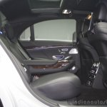 2014 Mercedes-Benz S Class S350 diesel launch rear seat