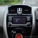 2014 Nissan Sunny facelift diesel review center cluster