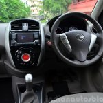 2014 Nissan Sunny facelift diesel review dashboard