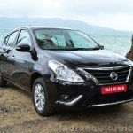 2014 Nissan Sunny facelift diesel review front quarter