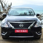 2014 Nissan Sunny facelift diesel review front