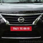 2014 Nissan Sunny facelift diesel review grille