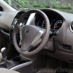 2014 Nissan Sunny facelift diesel review interior
