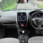 2014 Nissan Sunny facelift diesel review interiors