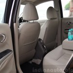 2014 Nissan Sunny facelift diesel review legroom rear
