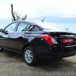2014 Nissan Sunny facelift diesel review rear quarters