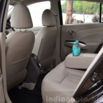 2014 Nissan Sunny facelift diesel review rear seat