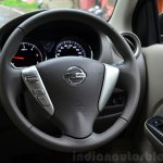 2014 Nissan Sunny facelift diesel review steering