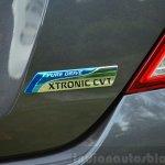 2014 Nissan Sunny facelift petrol CVT review CVT logo