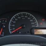 2014 Nissan Sunny facelift petrol CVT review cluster