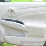 2014 Nissan Sunny facelift petrol CVT review door trim