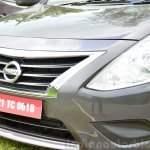 2014 Nissan Sunny facelift petrol CVT review front fascia image