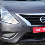 2014 Nissan Sunny facelift petrol CVT review front fascia