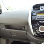 2014 Nissan Sunny facelift petrol CVT review glovebox