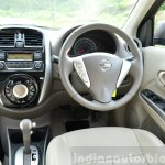 2014 Nissan Sunny facelift petrol CVT review interior