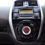 2014 Nissan Sunny facelift petrol CVT review piano black center