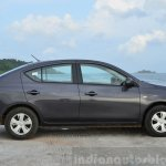 2014 Nissan Sunny facelift petrol CVT review side