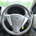 2014 Nissan Sunny facelift petrol CVT review steering