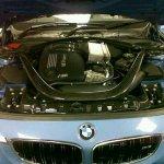 2015 BMW M3 spied in Malaysia engine