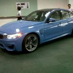 2015 BMW M3 spied in Malaysia front