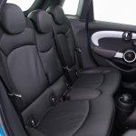 2015 Mini Five-Door press shot rear seat