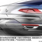 2015 VW Passat tech presentation taillights