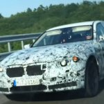 2016 BMW 7 Series BMW G11 front three quarters testing in Italy