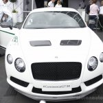 Bentley Continental GT3-R front at Goodwood Festival of Speed 2014