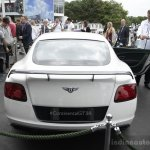 Bentley Continental GT3-R rear at Goodwood Festival of Speed 2014