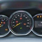 Dacia Logan 10th anniversary edtion instrument cluster