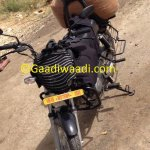 Hero Honda HF Dawn load carrier variant spied
