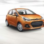 Hyundai Grand i10 South Africa press shot front