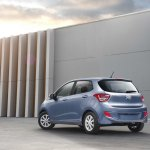 Hyundai Grand i10 South Africa press shot rear quarter