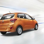 Hyundai Grand i10 South Africa press shot rear