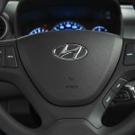Hyundai Grand i10 South Africa press shot steering