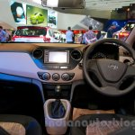 Hyundai Grand i10 dashboard at the 2014 Indonesia International Motor Show