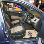 Hyundai Grand i10 front seats at the 2014 Indonesia International Motor Show