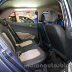 Hyundai Grand i10 rear seat at the 2014 Indonesia International Motor Show