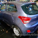 Hyundai Grand i10 rear three quarters at the 2014 Indonesia International Motor Show