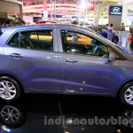 Hyundai Grand i10 side at the 2014 Indonesia International Motor Show