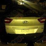 Hyundai ix25 4WD spied rear