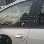 IAB spied 2014 Fiat Punto facelift door