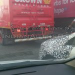 IAB spied 2014 Fiat Punto facelift fender